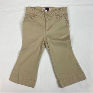 3/$15 BABY GAP Bell-bottom pants 18-24 Months
